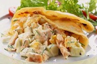 Salmon and Dill Crepes