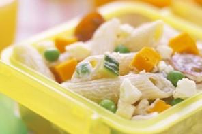Cheesy pasta salad