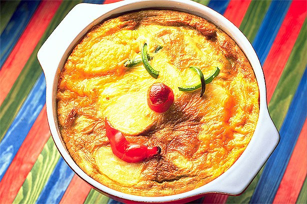 Clown fritatta