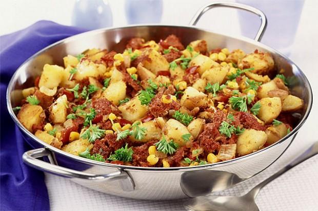 Potato hash