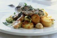 Lincolnshire pork and potatoes
