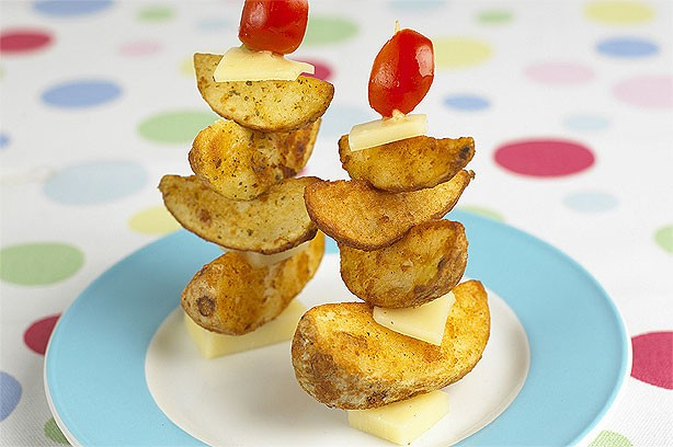 Potato sailboats