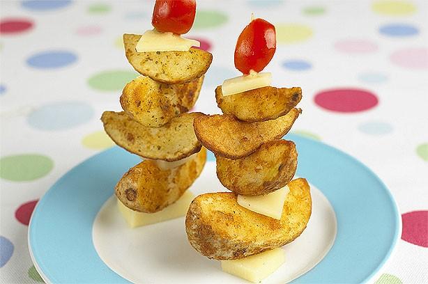 Potato sailboats