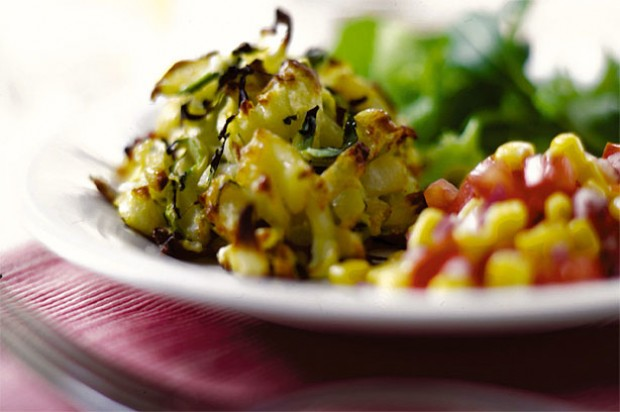 Courgette and turkey potato cakes