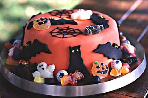 Trick or Treat Cake