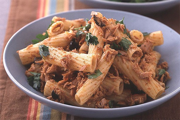 Tuna and Red Pesto Pasta