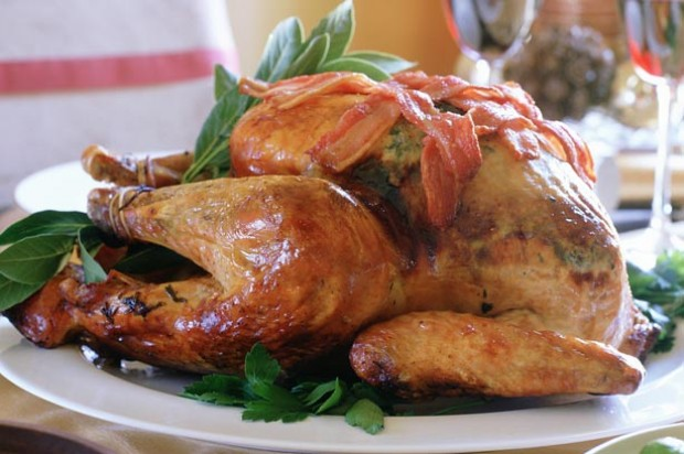 Roast Turkey with Herb and Honey Butter_IPN
