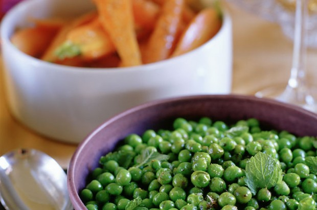 Balsamic Peas and Peppered Carrots_IPN