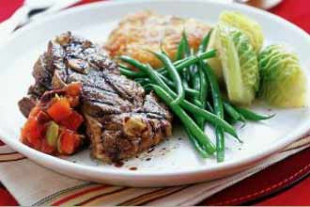 Balsamic Grilled Lamb with Olive Salsa_IPN