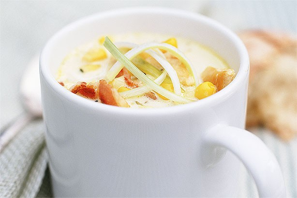 Chicken and Sweetcorn Chowder