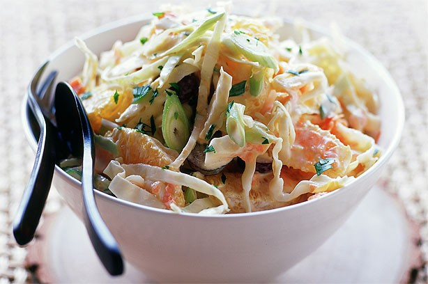 Essentials spicy coleslaw