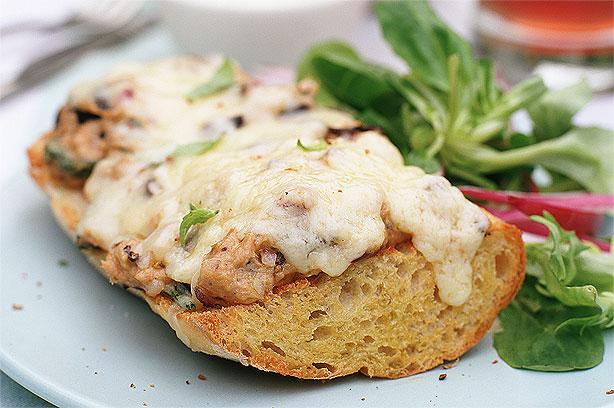 Tuna and cheese ciabatta melt recipe - goodtoknow