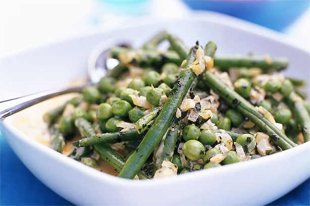 Pea and French Bean Curry