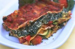 Creamy Spinach and Vegetable Lasagne