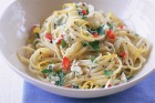 Crab, Lemon and Chilli Linguine