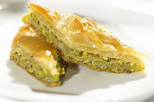 Almond and pistachio baklava recipe - goodtoknow