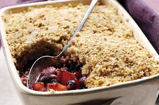 Classic plum crumble recipe - goodtoknow
