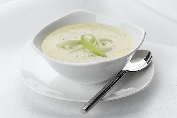 Leek soup
