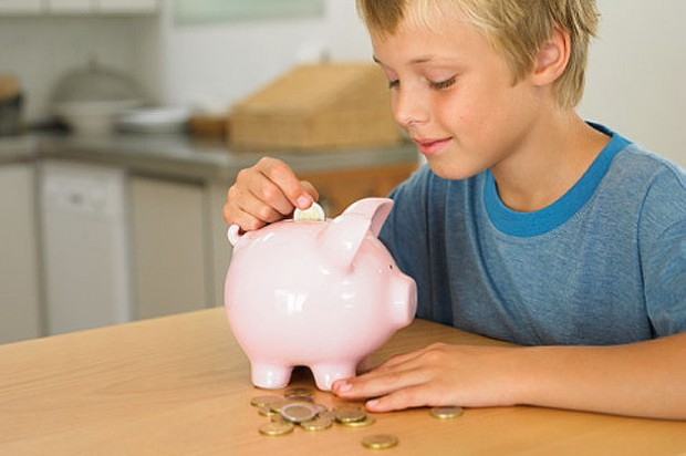Primary pocket money saving child piggy bank