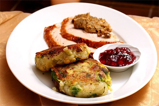 Shallot and sprout bubble and squeak cakes recipe - goodtoknow