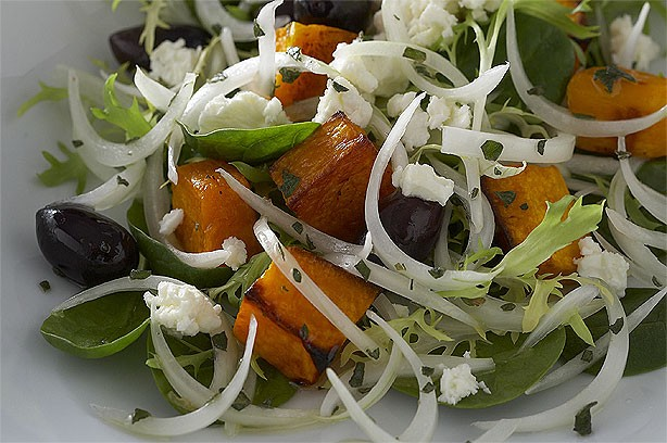 Sweet Onion and Squash Salad