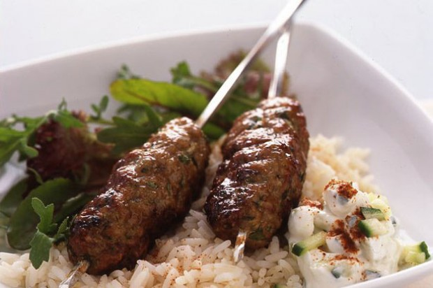 Spiced Pork Koftes