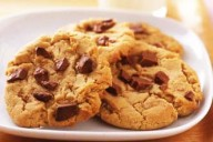 Chocolate chunky cookies