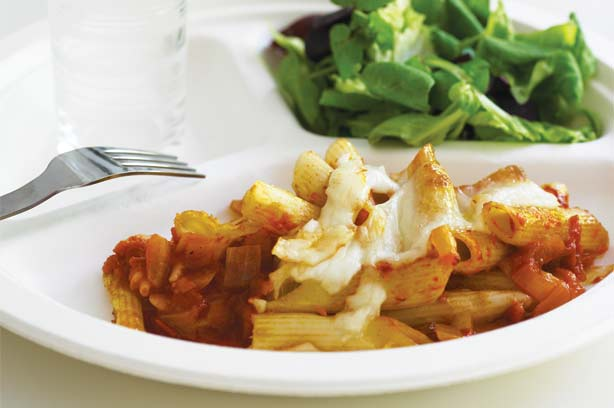 Tomato & mozzarella pasta bake recipe - goodtoknow