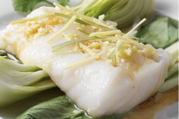 Steamed fish chinese style recipe goodtoknow for Chinese steamed fish recipe