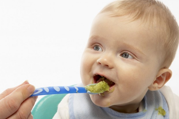 Encourage your baby to eat feeding weaning highchair