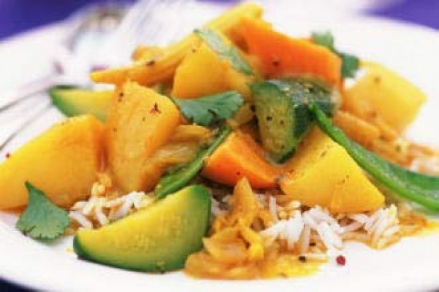 Indian style vegetables