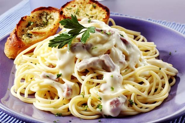 pasta Bacon Cheese Sauce