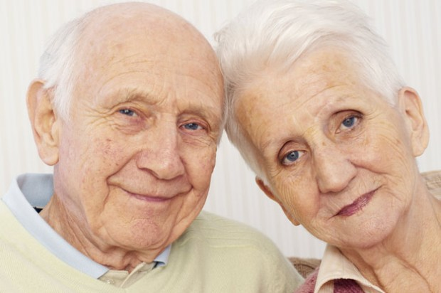 Elderly couple dementia relationship grandparents