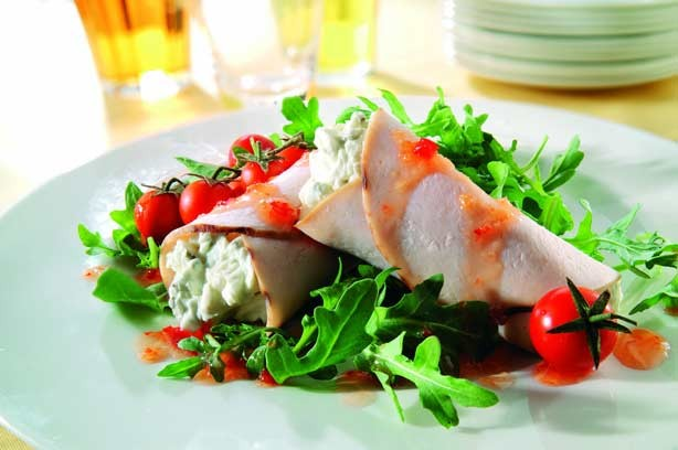 Turkey and cream cheese wrap recipe