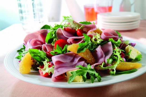 Turkey Ham Citrus Salad