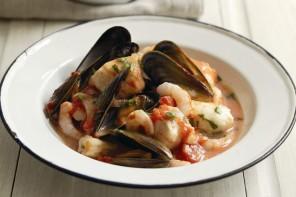 Meditteranean fish stew