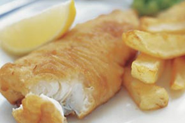 10 british seaside recipes 2 beer battered fish and for Beer battered fish and chips