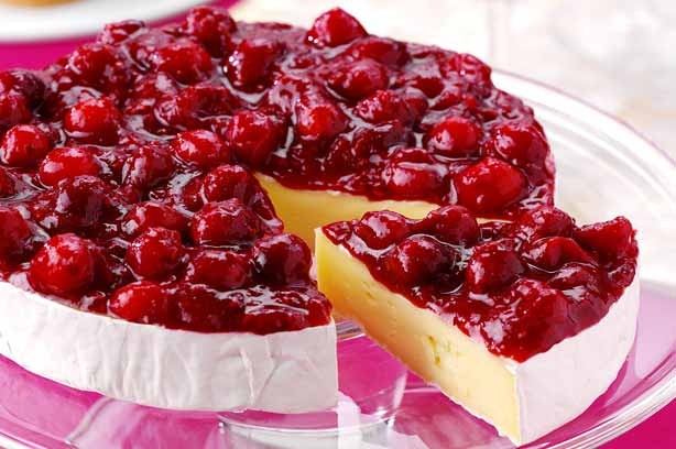 Brie and Cranberry Torte