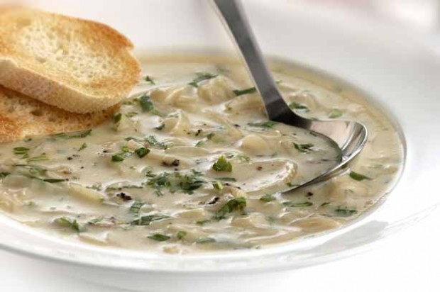 Camembert and Parsley Soup