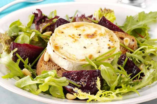 Chevre Log and Beetroot Salad