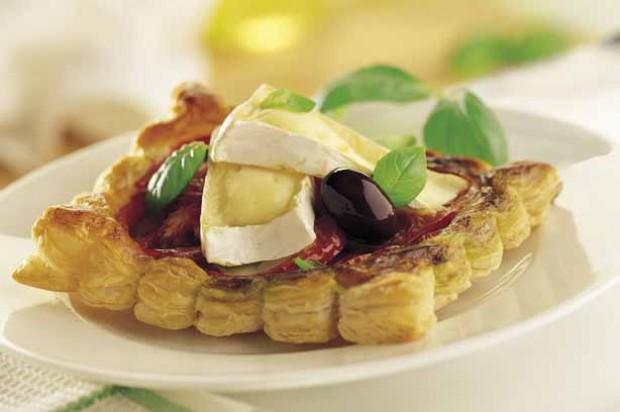 Mini Camembert Galettes