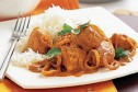 Healthy chicken tikka masala with rice