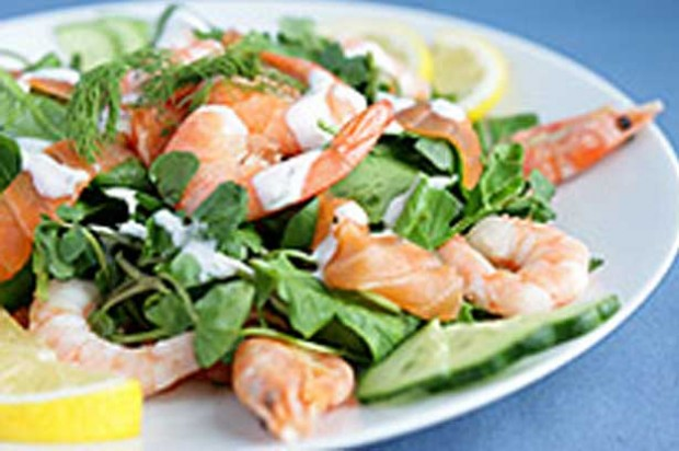 Lemon Seafood Salad from Rosemary Conely