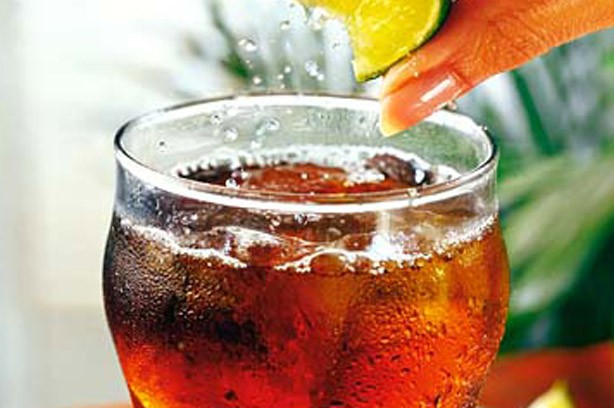 Cubra Libra cola fizzy drink