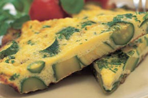Courgette frittata recipe