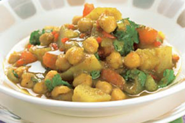 how to make chickpea dahl