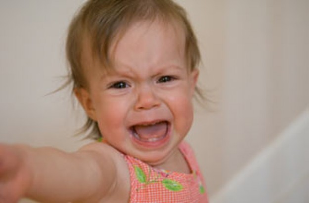 Ignore toddlers tantrums woman child_Istock