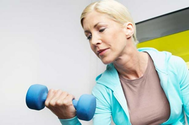 Exercise Tips walking with hand weights