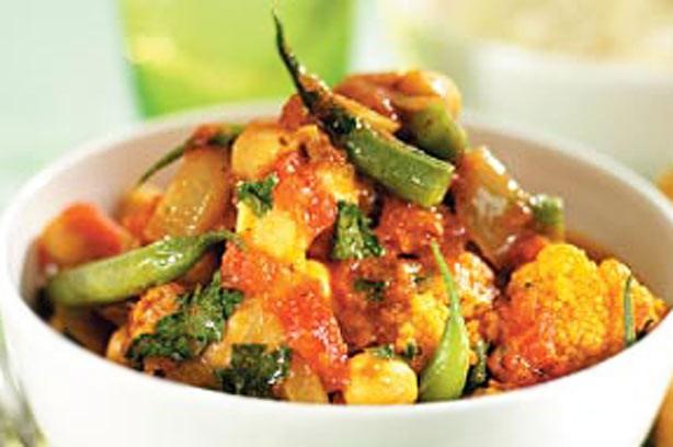 Spicy veggie hotpot