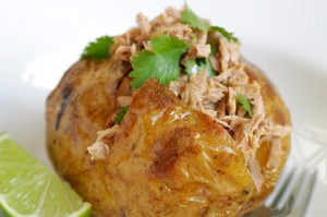 Jacket potato fillings tuna lime and coriander jacket for Jacket potato fillings mushroom